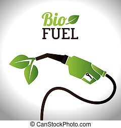Bio fuel vector illustration design