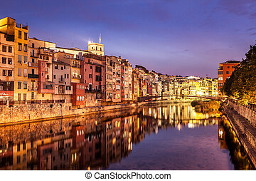 Girona - Historical city of Girona, famous by its jewish...