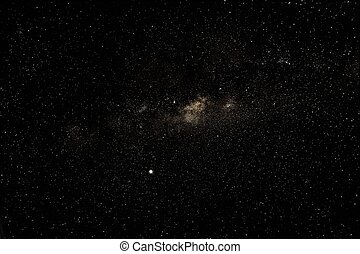 Milky Way above southern hemisphere