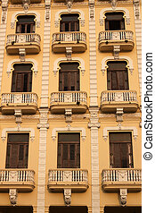 Building in Havana Cuba