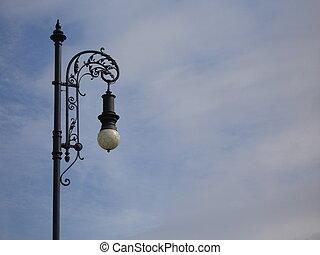 Street lamp - Old street lamp taken in Prague.