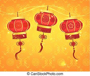 Happy Chinese New Year Vector Design Elements