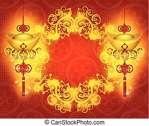 Happy Chinese New Year Vector Design