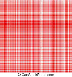 red tartan cloth - seamless texture of woven square red...