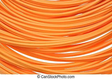 Orange multimode fiber