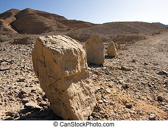 rock of desert - mountains, south of Israel, Mitzpe Ramon