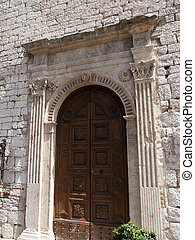 Assisi Italy - Decorative entrance