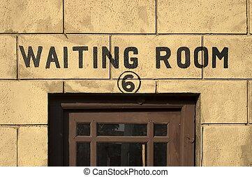 Waiting Room engrossed
