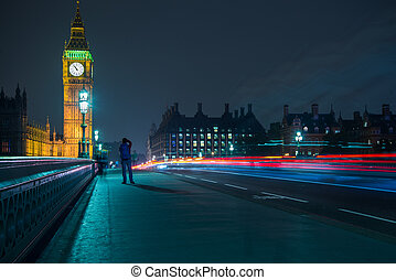 London Big Ben and Parliament House