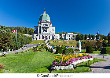The Saint Joseph Oratory in Montreal, Canada is a National...
