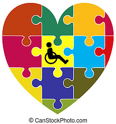 Inclusion Sign - Symbol for the successful integration of...