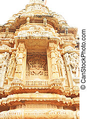 ancient carvings in massive Chittorgarh Fort and grounds...