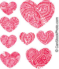paisley flower heat element