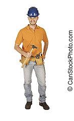 handyman and tool