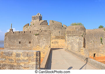 beautifully maintained fort diu gujarat india - this...