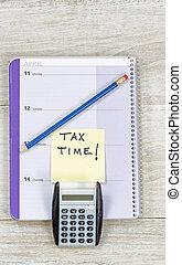 Time to Prepare Income Tax Refund
