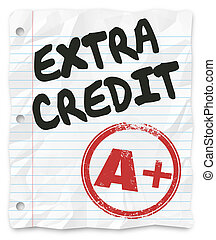 Extra Credit Added Points Results Graded School Paper...