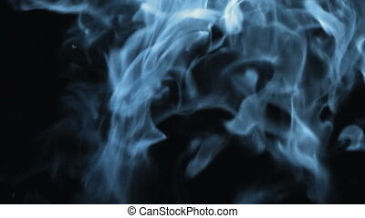 Heavy Smoke - Creeping fog blue drops down with a twist on a...