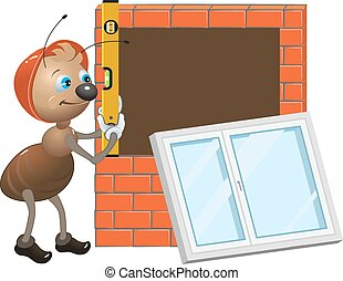 Ant worker Installing window - Ant worker. Installing...