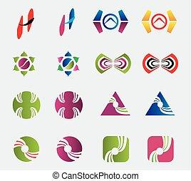 Vector logo design elements Pack