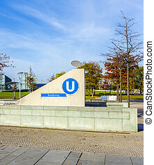 Bundestag is a Berlin U-Bahn station located on the U55 -...