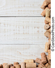 Partial Cork Frame - A partial cork frame on two sides of...