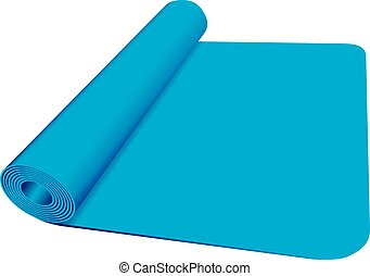Yoga mat Clip Art and Stock Illustrations. 1,400 Yoga mat