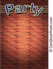 fiesta, invitación