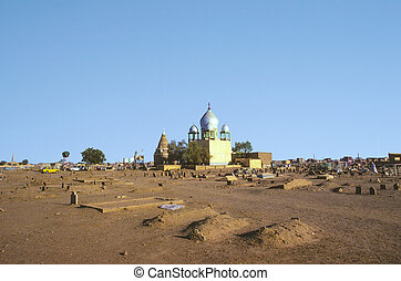Sufi Mausoleum in Omdurman - Sufi Mausoleum and the tomb of...