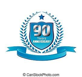 90 years Anniversary