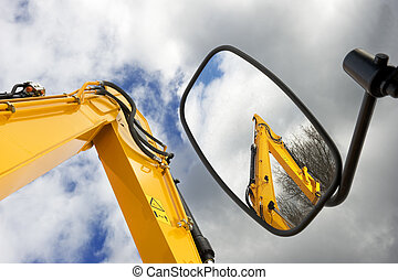 Mechanical arms - Earth moving machines and forklift arms,...