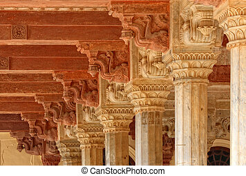 ancient columns - fine hi res image of ancient columns...