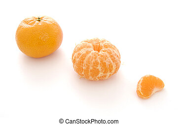 StillLife-17-0005 - Mandarin oranges, whole, peeled and a...