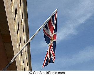 UK flag - Diplomatic Union Jack (Flag of the UK)
