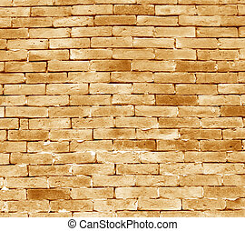 Brick walls - Old Red Bricks with Cracks and Dirt Spots....