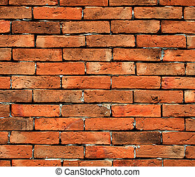 Brick walls - Background of old vintage brick wall