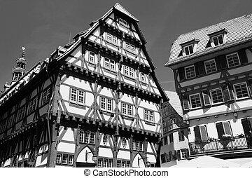 Esslingen am Neckar, Baden Wurttemberg, Germany - Old Town...