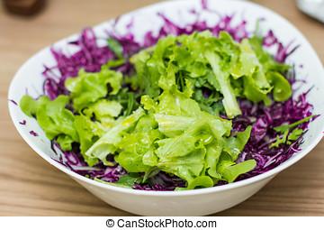 Fresh Healthy Food Salad