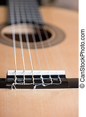 acoustic six-string guitar