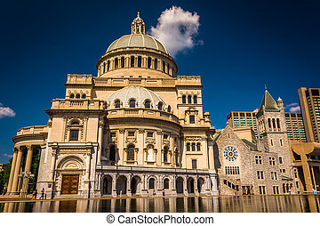 The First Church of Christ, Scientist at Christian Science...