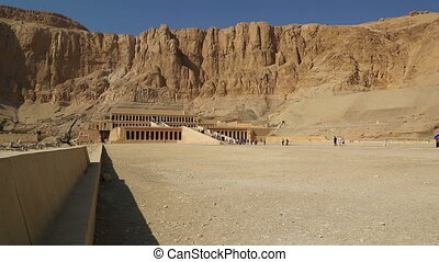ancient temple of Hatshepsut in Egypt - famous ancient...