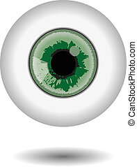 green eye aple