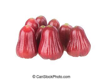maçã,  rosÈ, maçã, fundo