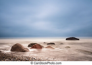 Stones on the Baltic Sea - Stones on shore of the Baltic...
