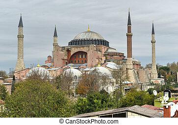 Hagia Sophia Mosque - Istanbul, Turkey - Hagia Sophia mosque...