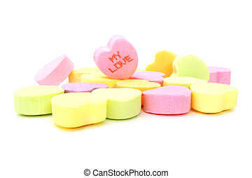 MY LOVE Valentines candy