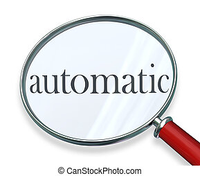 Automatic Word Magnifying Glass Program Software System -...