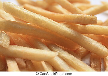 fries - french fries in close up