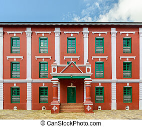 Tansen Durbar in Nepal - Tansen Durbar in Palpa district,...