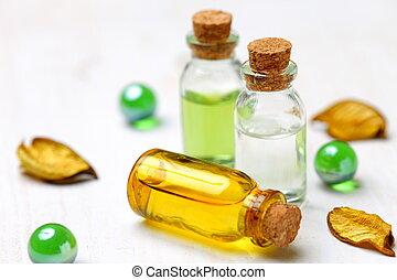 essential oil -  studio shot of essential oil